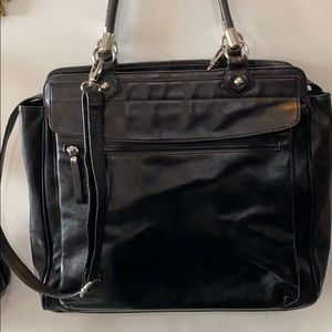 🍂🍁 DANIER LEATHER EXECUTIVE LAPTOP BAG